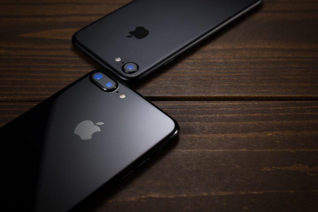 iphone7Plusのデュアルレンズ