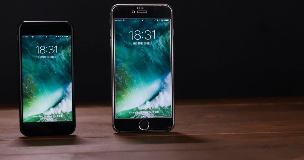 iPhone7とiPhone7Plus